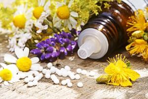 Globuli mit Kamille, Lavendel und Johanniskraut